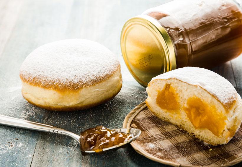 Krafna s marmeladom Dergez